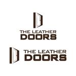 kashmanさんのレザーセレクトショップ「THE LEATHER DOORS」のロゴ制作依頼への提案