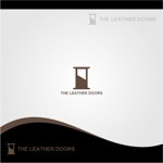 nr_komoさんのレザーセレクトショップ「THE LEATHER DOORS」のロゴ制作依頼への提案