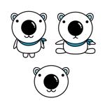 nawokiさんの会社のマスコットキャラクター 白くまへの提案