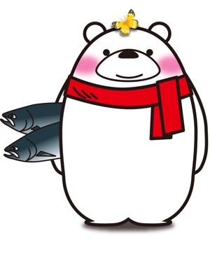 big-moonさんの会社のマスコットキャラクター 白くまへの提案