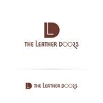toiroさんのレザーセレクトショップ「THE LEATHER DOORS」のロゴ制作依頼への提案