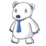 tendou_kazunariさんの会社のマスコットキャラクター 白くまへの提案
