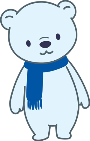 sarutoraさんの会社のマスコットキャラクター 白くまへの提案