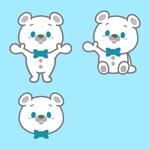 konpei10さんの会社のマスコットキャラクター 白くまへの提案