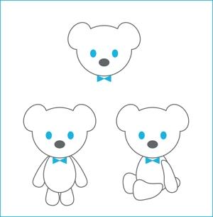miaow4lpdさんの会社のマスコットキャラクター 白くまへの提案