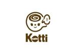 kropsさんの新規オープン「cafe Kotti」のロゴへの提案