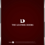 machi_2014さんのレザーセレクトショップ「THE LEATHER DOORS」のロゴ制作依頼への提案