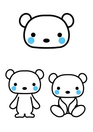 tidemaruさんの会社のマスコットキャラクター 白くまへの提案