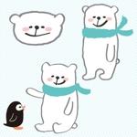 chicachuさんの会社のマスコットキャラクター 白くまへの提案