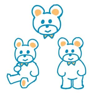 artandnaoさんの会社のマスコットキャラクター 白くまへの提案
