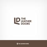solographicsさんのレザーセレクトショップ「THE LEATHER DOORS」のロゴ制作依頼への提案