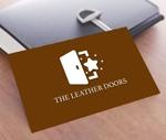 worker1311さんのレザーセレクトショップ「THE LEATHER DOORS」のロゴ制作依頼への提案