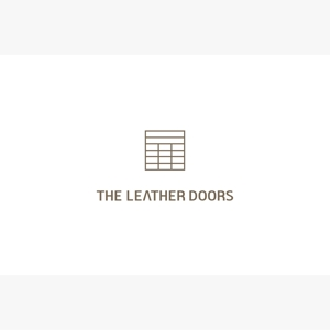 hiryuさんのレザーセレクトショップ「THE LEATHER DOORS」のロゴ制作依頼への提案