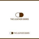 tokko4さんのレザーセレクトショップ「THE LEATHER DOORS」のロゴ制作依頼への提案