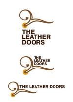 shima67さんのレザーセレクトショップ「THE LEATHER DOORS」のロゴ制作依頼への提案