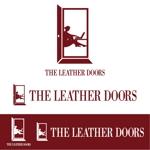not68さんのレザーセレクトショップ「THE LEATHER DOORS」のロゴ制作依頼への提案