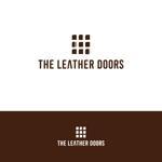 riicoccoさんのレザーセレクトショップ「THE LEATHER DOORS」のロゴ制作依頼への提案