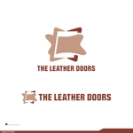 singaporeslingさんのレザーセレクトショップ「THE LEATHER DOORS」のロゴ制作依頼への提案
