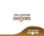 zen634さんのレザーセレクトショップ「THE LEATHER DOORS」のロゴ制作依頼への提案