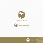 yybooさんのレザーセレクトショップ「THE LEATHER DOORS」のロゴ制作依頼への提案
