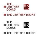 mu-mu-tairikuさんのレザーセレクトショップ「THE LEATHER DOORS」のロゴ制作依頼への提案