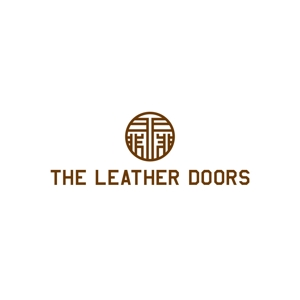 saconさんのレザーセレクトショップ「THE LEATHER DOORS」のロゴ制作依頼への提案