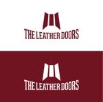 dari88さんのレザーセレクトショップ「THE LEATHER DOORS」のロゴ制作依頼への提案