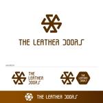 KODOさんのレザーセレクトショップ「THE LEATHER DOORS」のロゴ制作依頼への提案