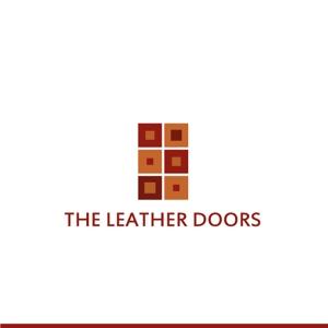 syotagotoさんのレザーセレクトショップ「THE LEATHER DOORS」のロゴ制作依頼への提案