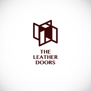 omoidefz750さんのレザーセレクトショップ「THE LEATHER DOORS」のロゴ制作依頼への提案