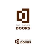 sazukiさんのレザーセレクトショップ「THE LEATHER DOORS」のロゴ制作依頼への提案