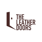 hit-machineさんのレザーセレクトショップ「THE LEATHER DOORS」のロゴ制作依頼への提案