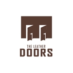 atariさんのレザーセレクトショップ「THE LEATHER DOORS」のロゴ制作依頼への提案