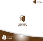 easelさんのレザーセレクトショップ「THE LEATHER DOORS」のロゴ制作依頼への提案