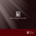 Watanabe_Designさんのレザーセレクトショップ「THE LEATHER DOORS」のロゴ制作依頼への提案