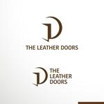sakari2さんのレザーセレクトショップ「THE LEATHER DOORS」のロゴ制作依頼への提案