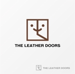 drkigawaさんのレザーセレクトショップ「THE LEATHER DOORS」のロゴ制作依頼への提案