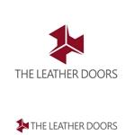 adtomさんのレザーセレクトショップ「THE LEATHER DOORS」のロゴ制作依頼への提案