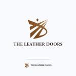 mae_chanさんのレザーセレクトショップ「THE LEATHER DOORS」のロゴ制作依頼への提案