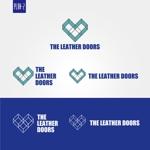 masa721markさんのレザーセレクトショップ「THE LEATHER DOORS」のロゴ制作依頼への提案
