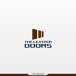 alleyooopさんのレザーセレクトショップ「THE LEATHER DOORS」のロゴ制作依頼への提案