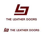 waami01さんのレザーセレクトショップ「THE LEATHER DOORS」のロゴ制作依頼への提案