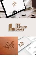 hinotoriさんのレザーセレクトショップ「THE LEATHER DOORS」のロゴ制作依頼への提案