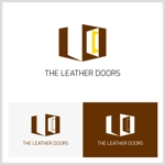 cokuさんのレザーセレクトショップ「THE LEATHER DOORS」のロゴ制作依頼への提案
