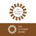 east_mountainさんのレザーセレクトショップ「THE LEATHER DOORS」のロゴ制作依頼への提案