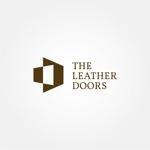 tanaka10さんのレザーセレクトショップ「THE LEATHER DOORS」のロゴ制作依頼への提案