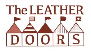 MakotoOsanaiさんのレザーセレクトショップ「THE LEATHER DOORS」のロゴ制作依頼への提案