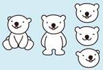 m_naitoさんの会社のマスコットキャラクター 白くまへの提案