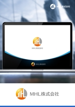 NJONESさんの「MHL株式会社」のロゴへの提案