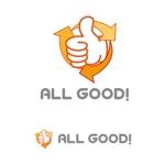 sirouさんの買取専門店「ALL GOOD!」のロゴへの提案